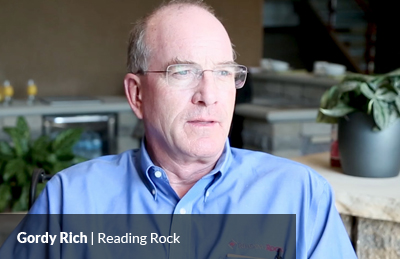 Gordy Rich Reading Rock
